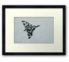 Avro Vulcan bomber Framed Print