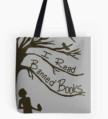 I Read Banned Books Tote Bag