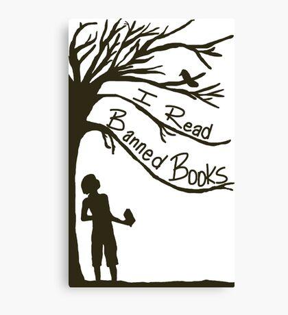 I Read Banned Books Canvas Print