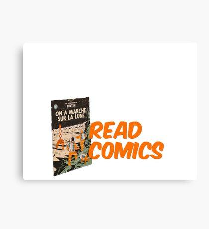 Read Comics Canvas Print