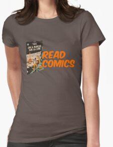 Read Comics Womens Fitted T-Shirt
