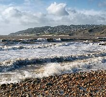 Charmouth Seascape by Susie Peek