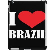I LOVE BRAZIL iPad Case/Skin