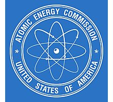 Atomic Energy Commission #2 (White) Photographic Print