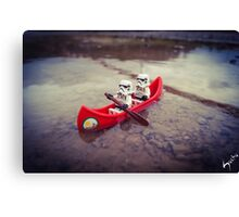 Chillin' on the water Canvas Print