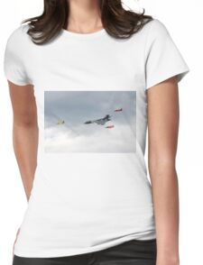 Vulcan bomber and Gnats Womens Fitted T-Shirt