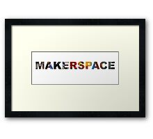 MakerSpace Framed Print