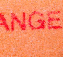 Angel Candy Heart Sticker