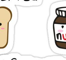 Bread+ Nutella Sticker