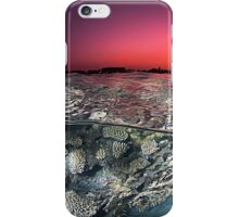 Sunset Over the Red Sea Reef iPhone Case/Skin