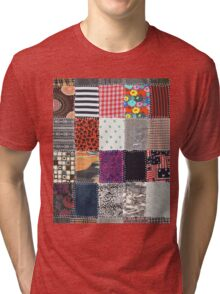Patchwork Fabrics Tri-blend T-Shirt