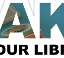 Make At Your Library Sticker