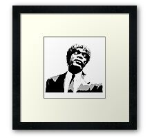 Jules Winnfield Framed Print