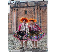 Peruvian Women With Lamb iPad Case/Skin