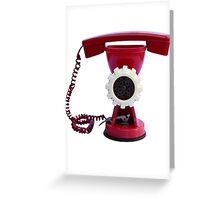 Mincer Phone by Zorro Gamarnik Greeting Card