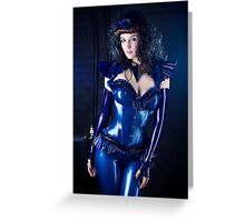Lovely Latex Greeting Card