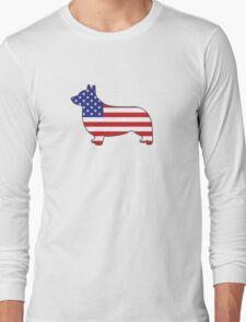 Corgi USA Long Sleeve T-Shirt