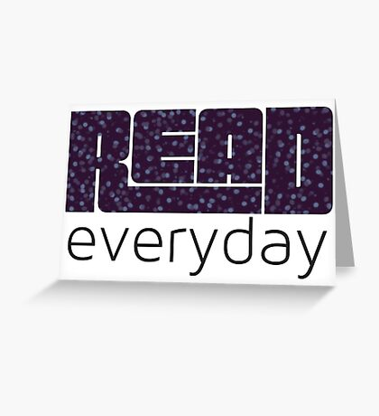 Read Everyday Greeting Card