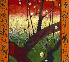 Vincent Van Gogh - Flowering Plum Orchard (After Hiroshige) by lifetree