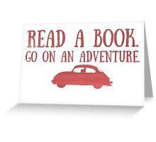 Read a Book Greeting Card