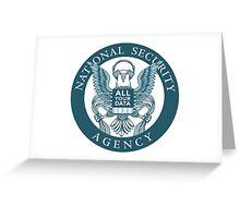 CIA Parody Greeting Card