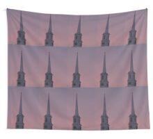 Church steeple Wall Tapestry