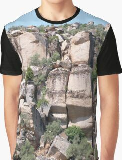 Unusual Rock Formations Near Cine Graphic T-Shirt