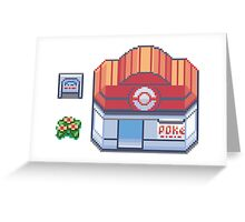 PokeCentre Greeting Card