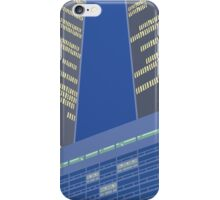 Tucked between the Towers iPhone Case/Skin
