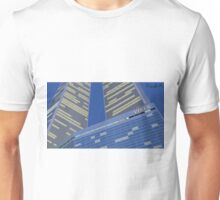 Tucked between the Towers Unisex T-Shirt