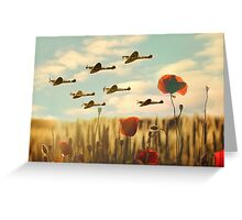 The way to home Greeting Card