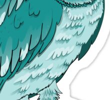 Teal Owl Sticker