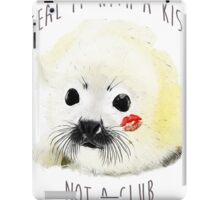 seal it with a kiss iPad Case/Skin