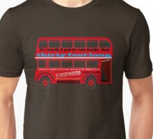 A Transport of Delight - Omnibus song! Unisex T-Shirt