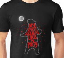 My Spirit Animal Likes to Party  Unisex T-Shirt
