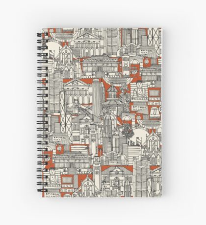 Hong Kong toile de jouy Spiral Notebook