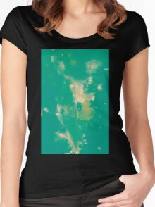 WDVT - 0041 - Background Radiance Women's Fitted Scoop T-Shirt