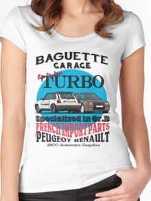 Baguette Garage Women's Fitted Scoop T-Shirt