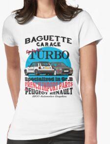 Baguette Garage Womens Fitted T-Shirt