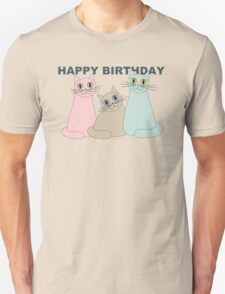 HAPPY BIRTHDAY by THREE CATS Unisex T-Shirt