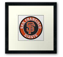 San Francisco Giants logo Framed Print