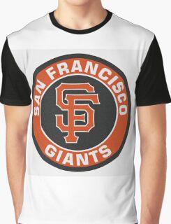 San Francisco Giants logo Graphic T-Shirt