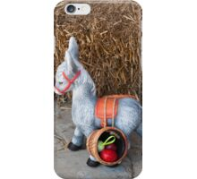 Easter little donkey iPhone Case/Skin