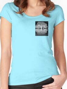 Serenity Tree Women's Fitted Scoop T-Shirt