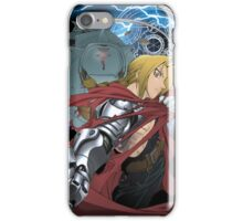 Ed and Alphonse, fullmetal alchemist  iPhone Case/Skin