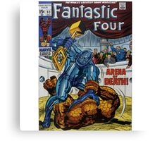 The Fantastic Four (Arena) Canvas Print