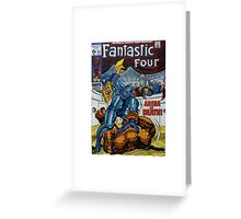The Fantastic Four (Arena) Greeting Card