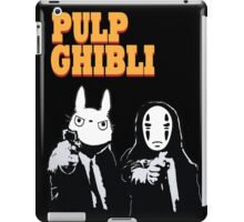 Pulp Ghibli - Studio Ghibli and Pulp Fiction iPad Case/Skin
