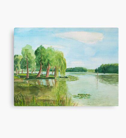 Schaeferwiese Lychen - Uckermark Canvas Print