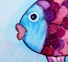 Lovely fish Sticker